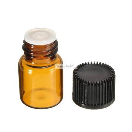 2 ml essential oil bottle, vials - amber