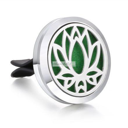 Essential oil, aroma car diffuser vent clip - Lotus