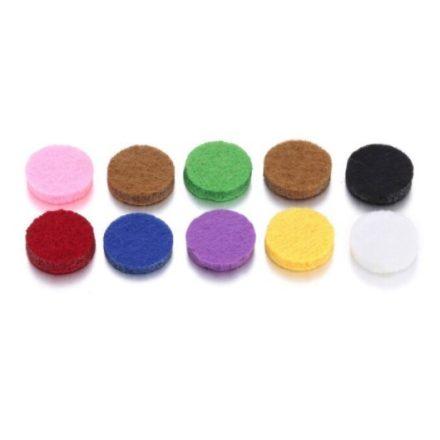 Aroma ékszerbe betét - 15 mm (10 db)