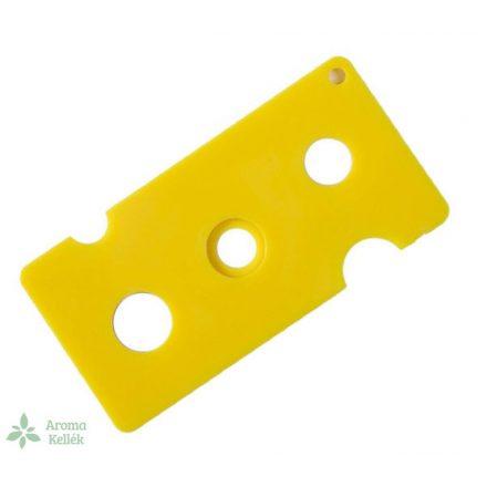 Nyitó esszenciális olaj / illóolajos üvegekhez - sárga