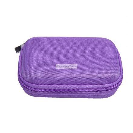 Esszenciális olaj / illóolaj tartó - 10 ml-es üvegekhez (lila)