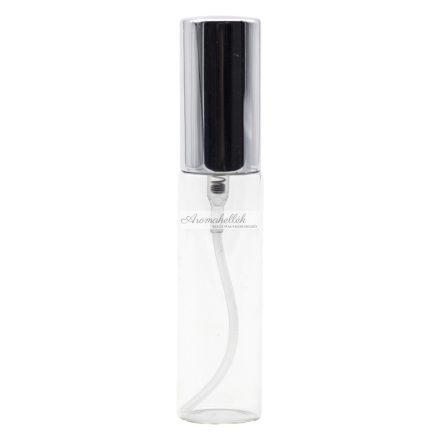 Szórófejes (spray) üveg ezüst kupakkal - 10 ml