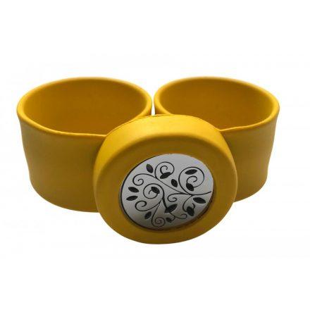 Aroma karkötő gyerekeknek (Virág) sárga