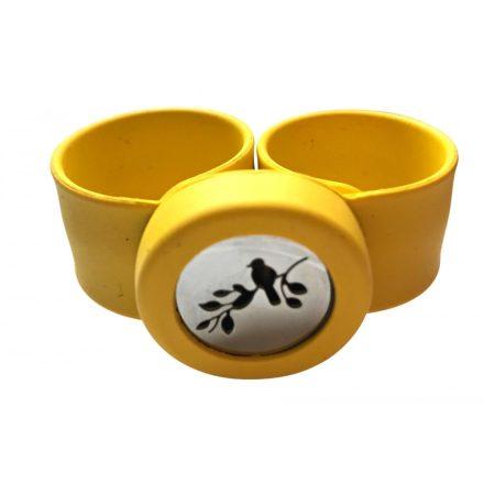 Aroma karkötő gyerekeknek (Madár) sárga