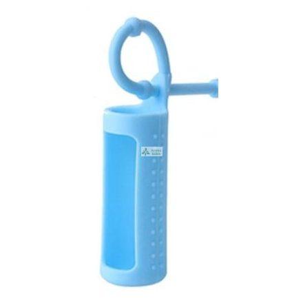 Szilikon illóolaj üvegtartó 10 ml-es üvegekre - kék